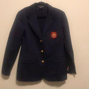 J.G. Hook Navy blazer size 12